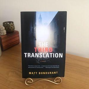 The Third Translation by Matt Bondurant Paperback